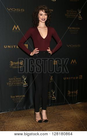 LOS ANGELES - APR 29:  Paige Searcy at the 43rd Daytime Emmy Creative Awards at the Westin Bonaventure Hotel  on April 29, 2016 in Los Angeles, CA