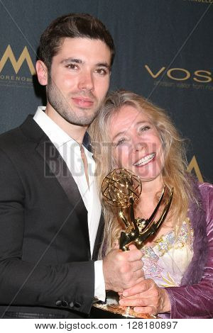 LOS ANGELES - APR 29:  Kristos Andrews, mother at the 43rd Daytime Emmy Creative Awards at the Westin Bonaventure Hotel  on April 29, 2016 in Los Angeles, CA
