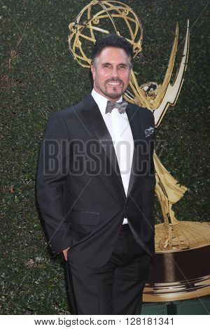 LOS ANGELES - APR 29:  Don Diamont at the 43rd Daytime Emmy Creative Awards at the Westin Bonaventure Hotel  on April 29, 2016 in Los Angeles, CA