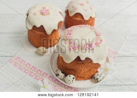 Traditional easter cakes
