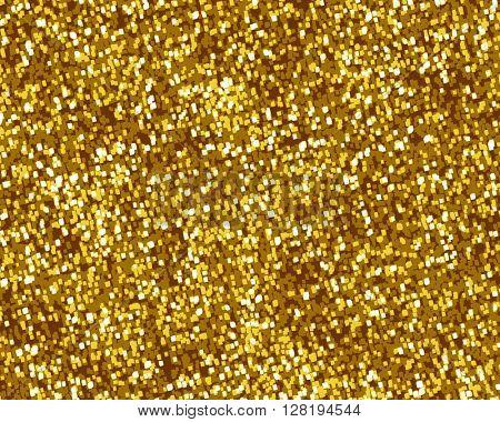 Glittering gold background