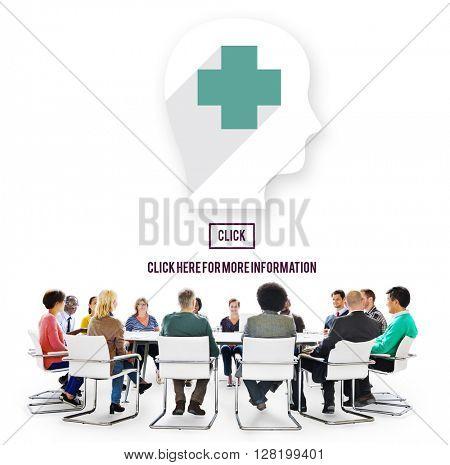 Medic Healthcare Consultant Solve Care Concept