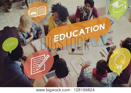 Education College Intelligence Knowledge Leaning Concept