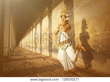 Aspire Dancers at Angkor Wat Concept