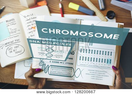 Book Reading Education Learning Chromosome Concept