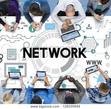 Online Network Sharing WWW System Concept