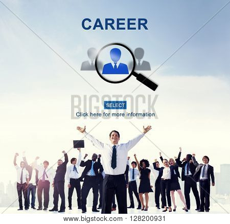 Career Employment Occupation Recruitment Work Concept