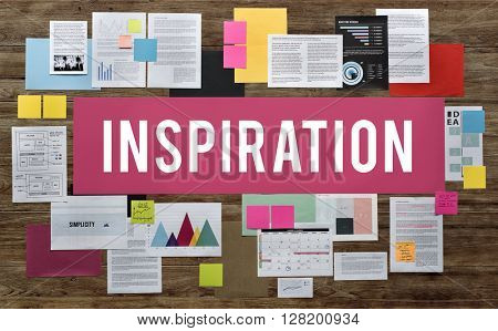 Inspiration Confidence Creative Imagination Concept