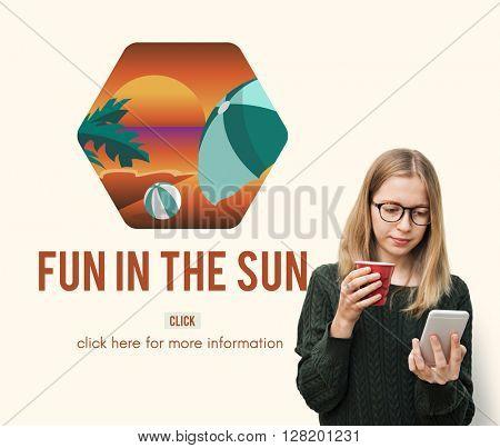 Fun In The Sun Girl Concept