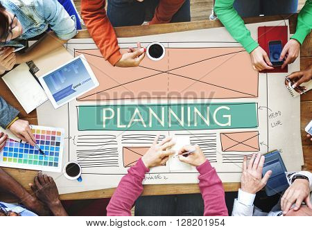 Planning Plan Solution Strategy Tactics Vision Concept
