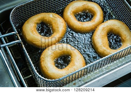 fried donuts