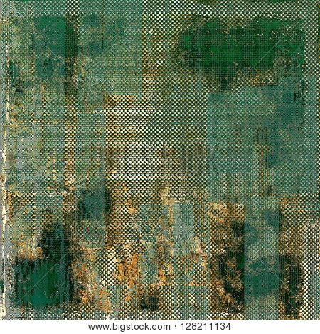 Nice looking grunge texture or abstract background. With different color patterns: yellow (beige); brown; gray; green; blue