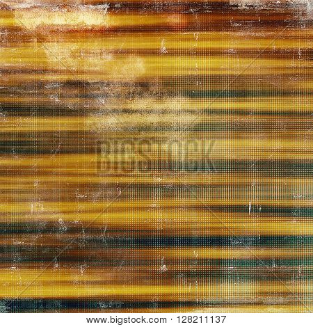 Highly detailed grunge background or scratched vintage texture. With different color patterns: yellow (beige); brown; gray; red (orange)