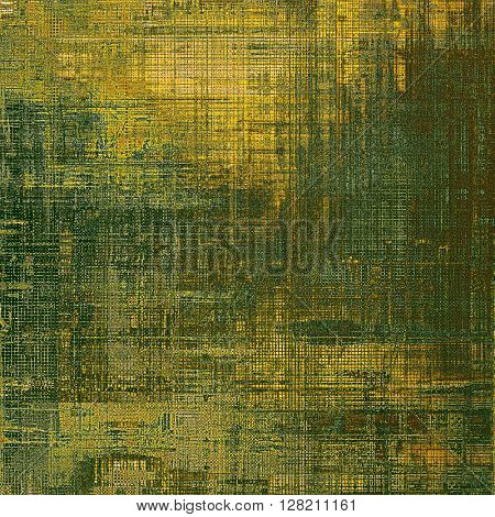 Vintage background texture, antique style composition for your design. With different color patterns: yellow (beige); brown; gray; green