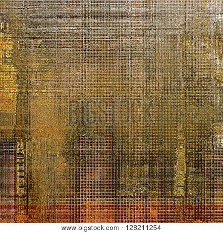 Colorful abstract retro background, aged vintage texture. With different color patterns: yellow (beige); brown; gray