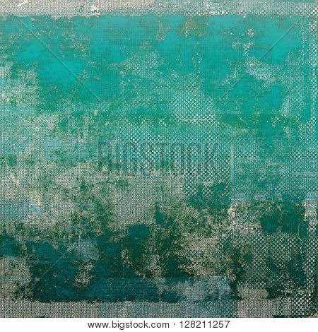 Colorful grunge background, tinted vintage style texture. With different color patterns: gray; green; blue; cyan