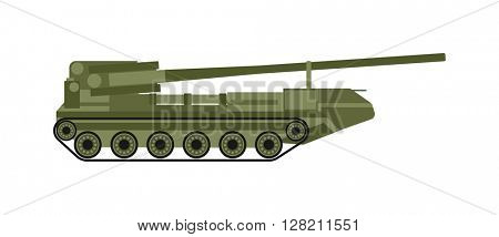 Air defense vector illustration.