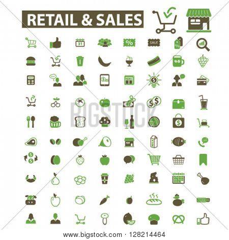 retail & sales icons