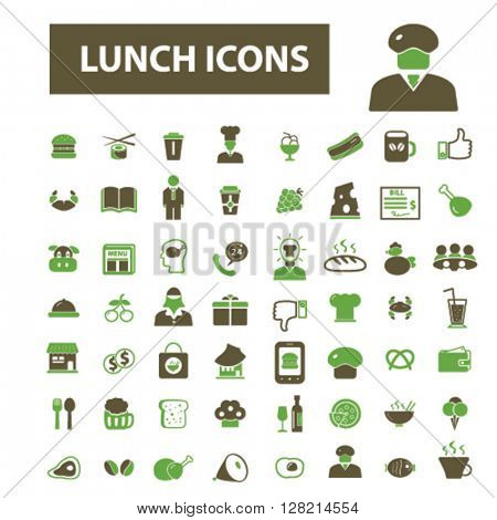 lunch icons
