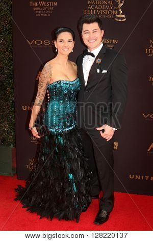 LOS ANGELES - MAY 1:  Christopher Sean at the 43rd Daytime Emmy Awards at the Westin Bonaventure Hotel  on May 1, 2016 in Los Angeles, CA