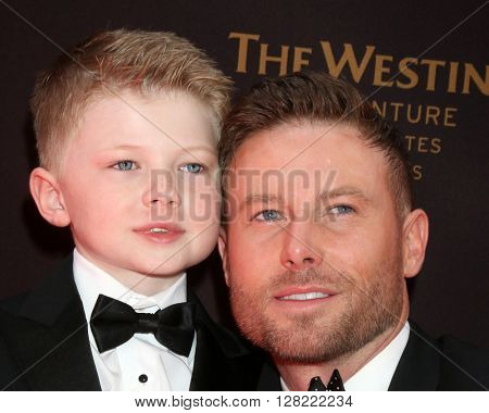 LOS ANGELES - MAY 1:  Jacob Young at the 43rd Daytime Emmy Awards at the Westin Bonaventure Hotel  on May 1, 2016 in Los Angeles, CA