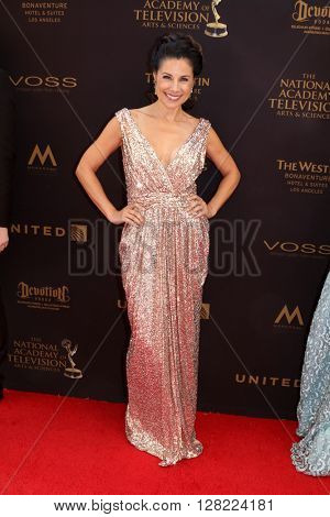 LOS ANGELES - MAY 1:  Marie Wilson at the 43rd Daytime Emmy Awards at the Westin Bonaventure Hotel  on May 1, 2016 in Los Angeles, CA