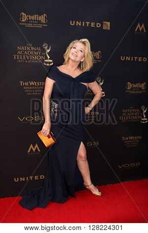 LOS ANGELES - MAY 1:  Melody Thomas Scott at the 43rd Daytime Emmy Awards at the Westin Bonaventure Hotel  on May 1, 2016 in Los Angeles, CA