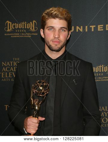 LOS ANGELES - MAY 1:  Bryan Craig at the 43rd Daytime Emmy Awards at the Westin Bonaventure Hotel  on May 1, 2016 in Los Angeles, CA