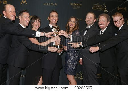 LOS ANGELES - MAY 1:  The Price is RIght - Winners Best Game Show at the 43rd Daytime Emmy Awards at the Westin Bonaventure Hotel  on May 1, 2016 in Los Angeles, CA