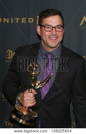 LOS ANGELES - MAY 1:  Tyler Christopher at the 43rd Daytime Emmy Awards at the Westin Bonaventure Hotel  on May 1, 2016 in Los Angeles, CA