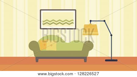 Background of living room
