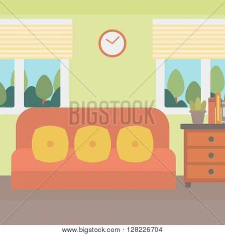 Background of living room.