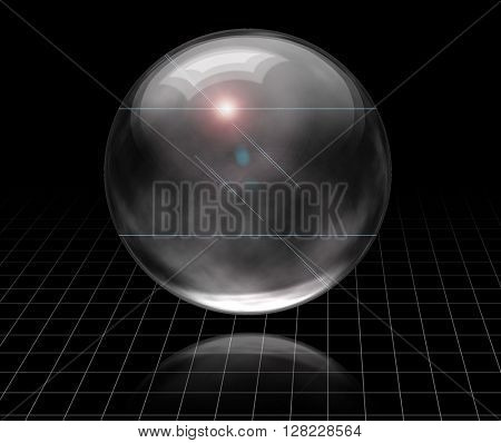 3D Render Bubble