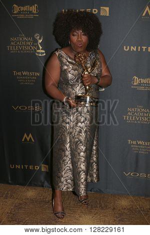 LOS ANGELES - MAY 1:  Sheryl Underwood at the 43rd Daytime Emmy Awards at the Westin Bonaventure Hotel  on May 1, 2016 in Los Angeles, CA