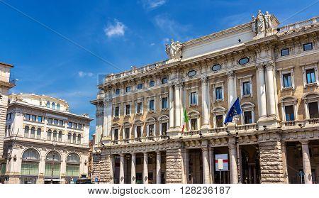 Galleria Alberto Sordi, built in 1922, in Rome, Italy