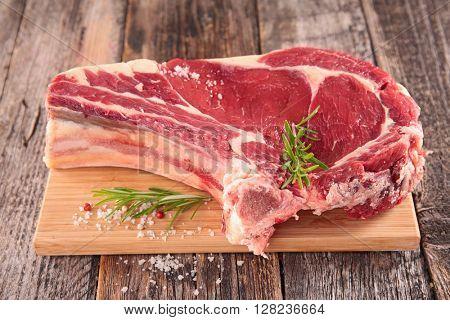 raw beef on board