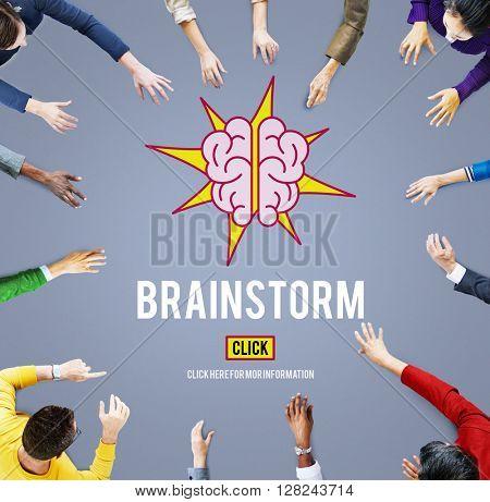 Brainstorm Ideas Plan Strategy Concept