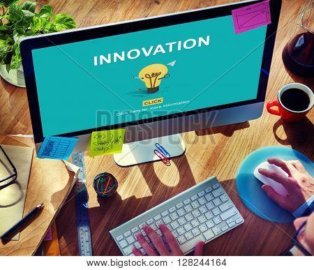 Innovation Design Development Ideas Imagination Concept