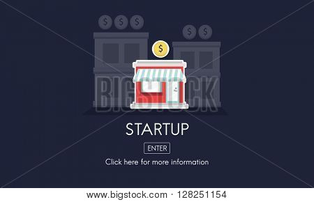 Startup New Business Strategy Invest Concept