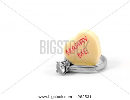 Candy Heart And Ring