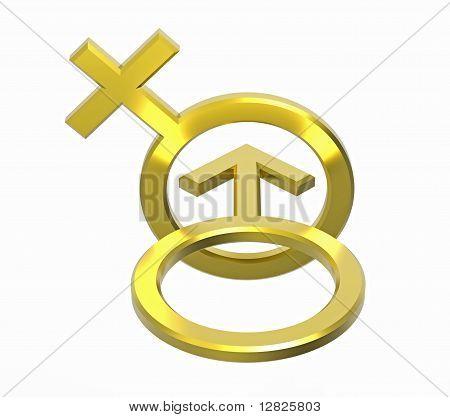 Male And Female Sex Symbols