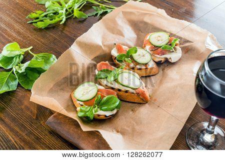 summer sandwiches