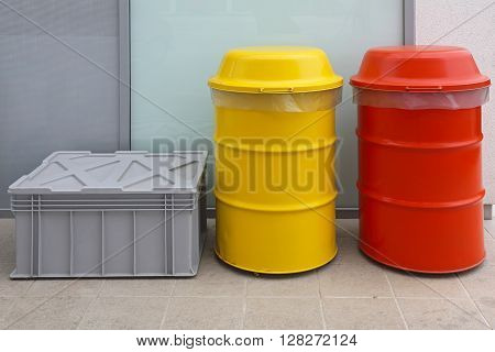 Dangerous and Hazardous Waste Disposal in Barrels