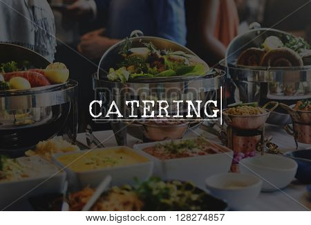 Catering Culinary Food Meal Part Celebration Concept