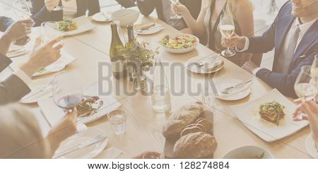 Food Choice Dining Eating Event Festive Buffet Concept
