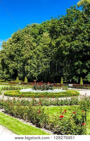 garden of Kozlowski Palace, Lublin Voivodeship, Poland