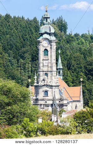 cistercian monastery in Zwettl, Lower Austria, Austria