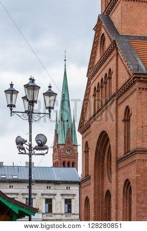 Evangelical Church, Torun, Kuyavia-Pomerania, Poland