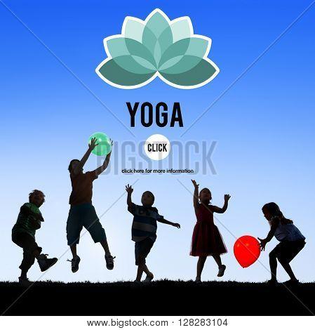 Yoga Meditation Relaxation Balance Wellness Concept