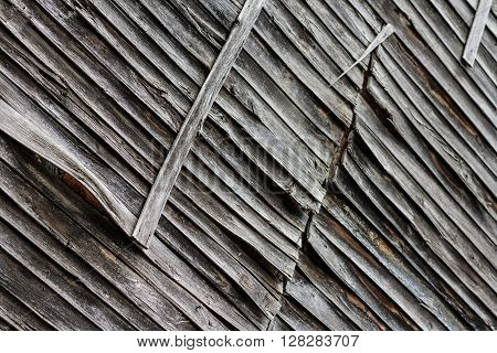 Cracks and texture of old wood material